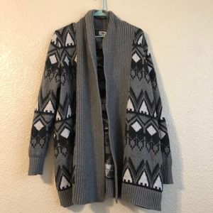 Old Navy Heavy Knit Open Cardigan